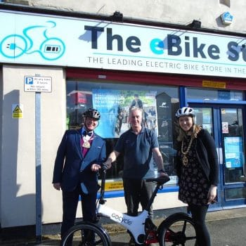 Electrci bike gets Durham Mayors approval