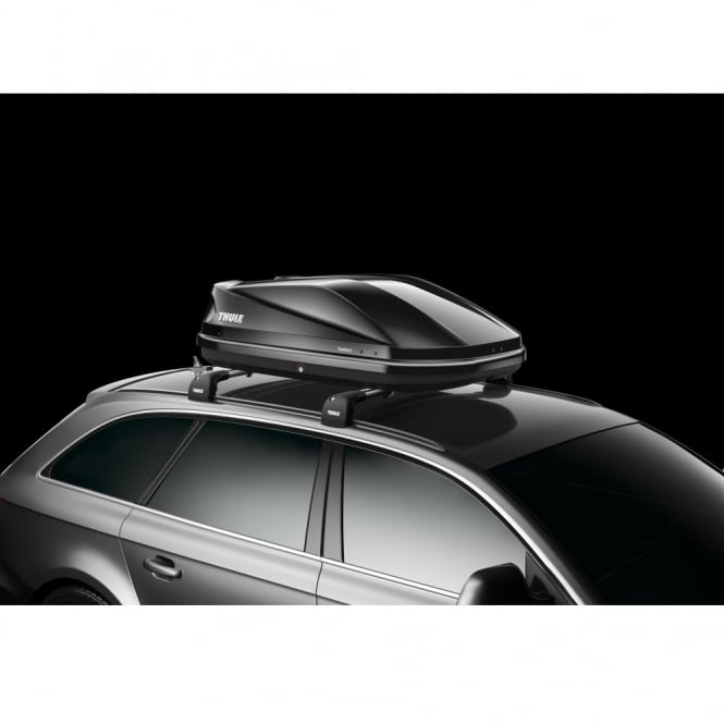 634101 Touring 100 gloss black roof box - 330 litres