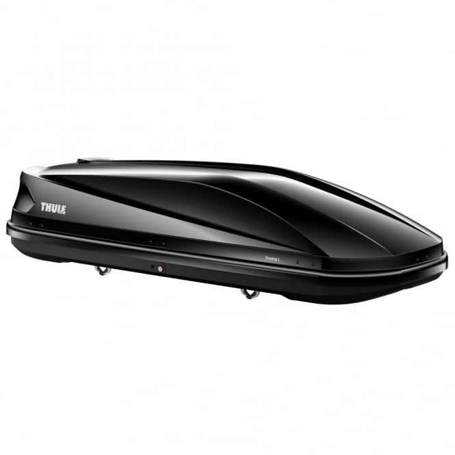 634801 Touring large 780 gloss black roof box - 420 litres