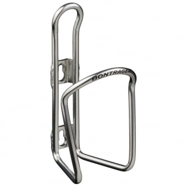 Cyclists sliver bottle cage