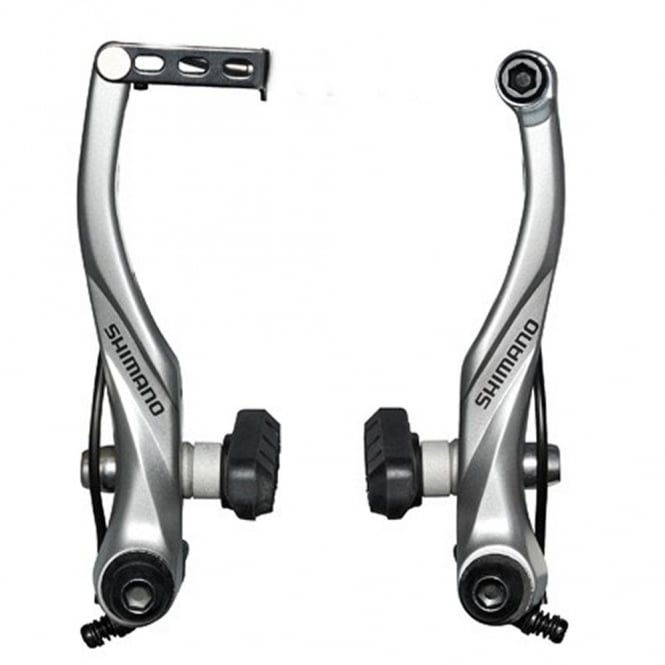 BRT4000 Alivio Rear v-brake silver with pads