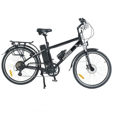 Hawk crossbar electric bike - Black