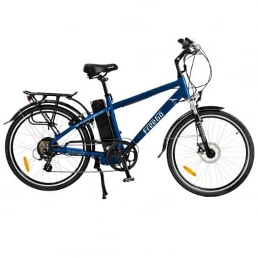 Hawk crossbar electric bike - Blue