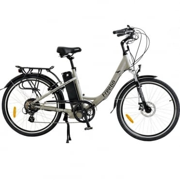 Hawk step through electric bike - Grey