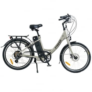 Wren small step-through electric bike - Grey