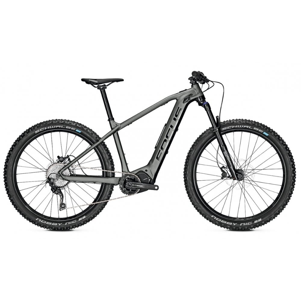 Jam 2 6 8 Plus electric mountain bike, hardtail with Shimano E8000 centre  motor (Plus tyre size)
