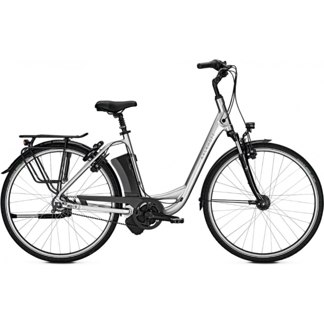 Jubilee Excite i8 step through electric bike with 17ah battery and Gates belt drive