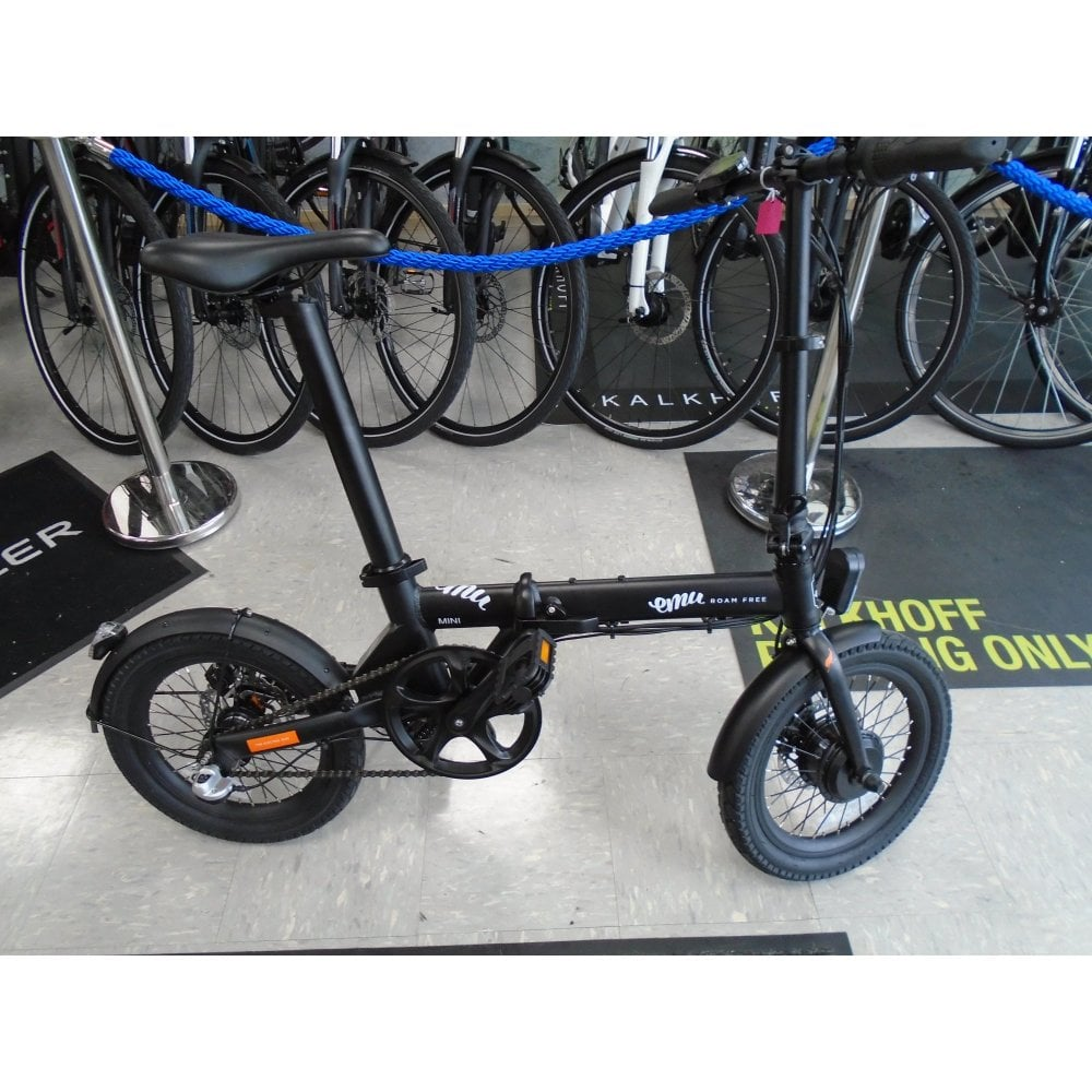 emu mini folding electric bike at the ebike store durham. Black Bedroom Furniture Sets. Home Design Ideas