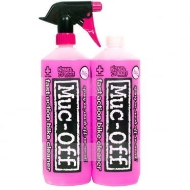 Bike cleaner twin-pack (1 litre with trigger top and 1 litre refill)