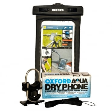 Aqua Dry Phone - universal weatherproof phone mount for bikes