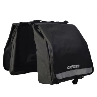 C20 double pannier rack bag - 20 litre capacity