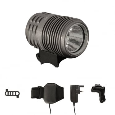 Ugoe 1000 lumen front cycle light with 5200 MAh battery unit