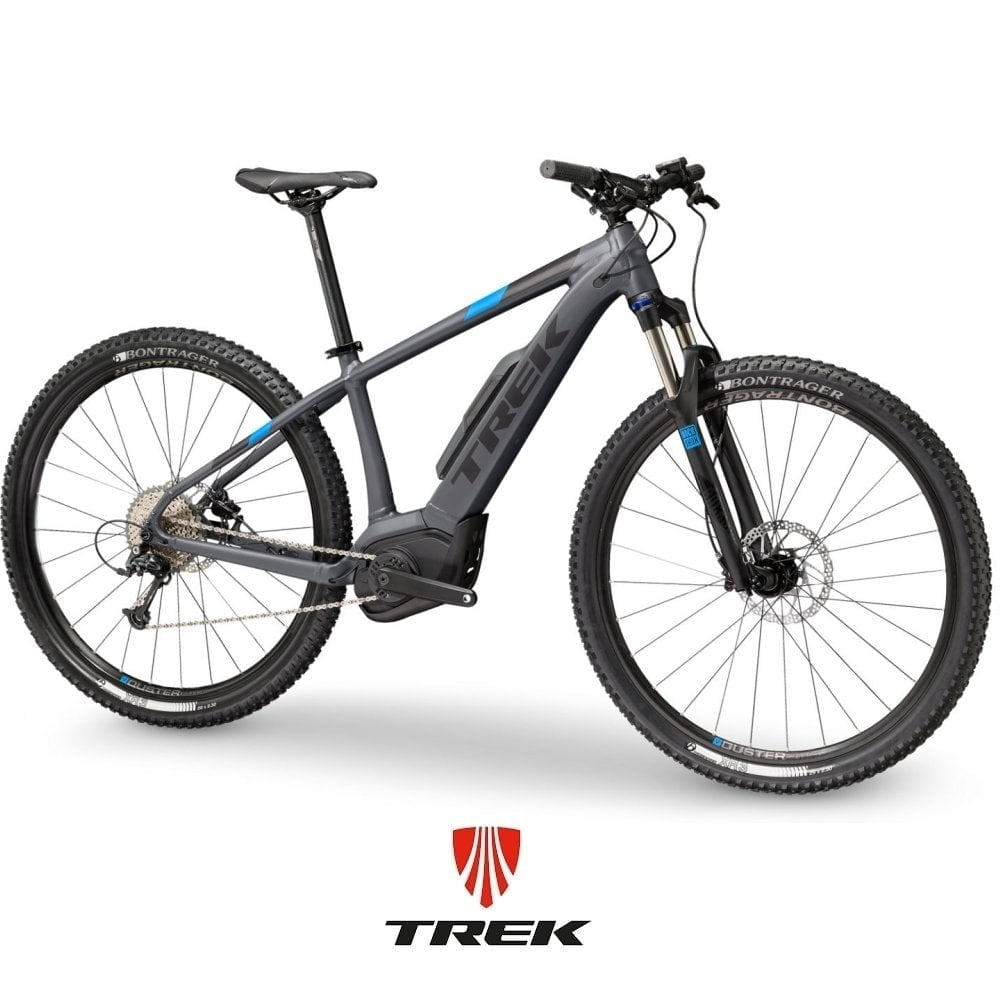trek powerfly 5 electric mountain bike from the e bike. Black Bedroom Furniture Sets. Home Design Ideas