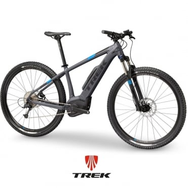 Powerfly 5 electric mountain bike with Bosch Performance CX motor / 500wh battery - Charcoal/Black