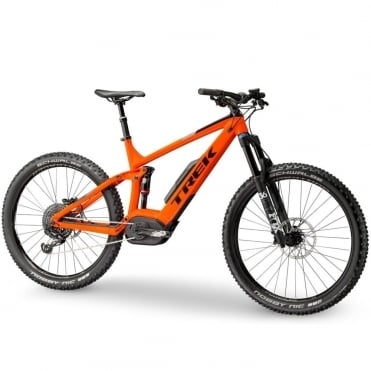 Powerfly FS 9 LT full suspension electric mountain bike with Bosch Performance CX motor/ 500wh battery Roarange