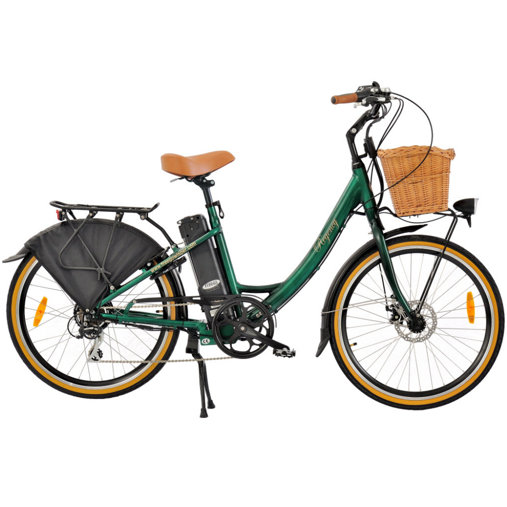 freego regency classic looking electric bike from the. Black Bedroom Furniture Sets. Home Design Ideas