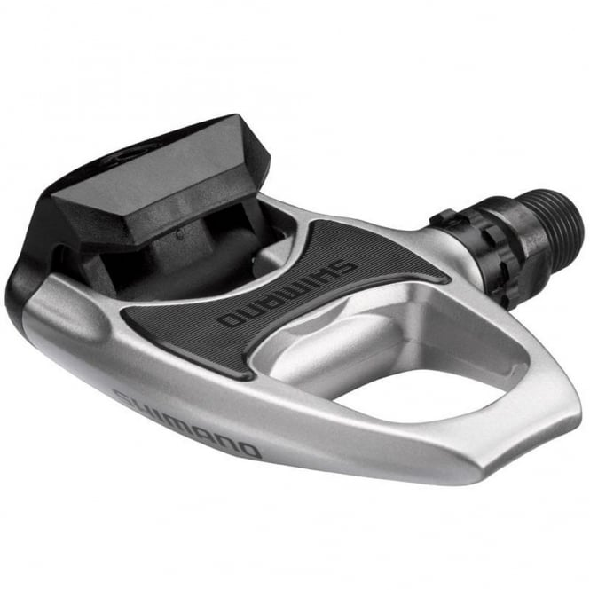 SPD-SL light action silver road bike pedals