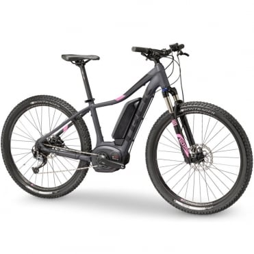 Powerfly 4 ladies electric mountain bike with Bosch Performance CX motor / 500wh battery - Charcoal grey