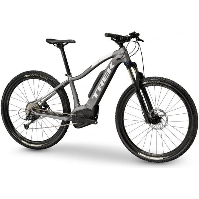 Powerfly 5 ladies electric mountain bike with Bosch Performance CX motor / 500wh battery - Anthracite/White