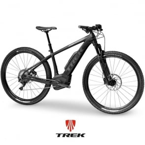 Powerfly 7 electric mountain bike with Bosch Performance CX motor / 500wh battery - Charcoal/Black