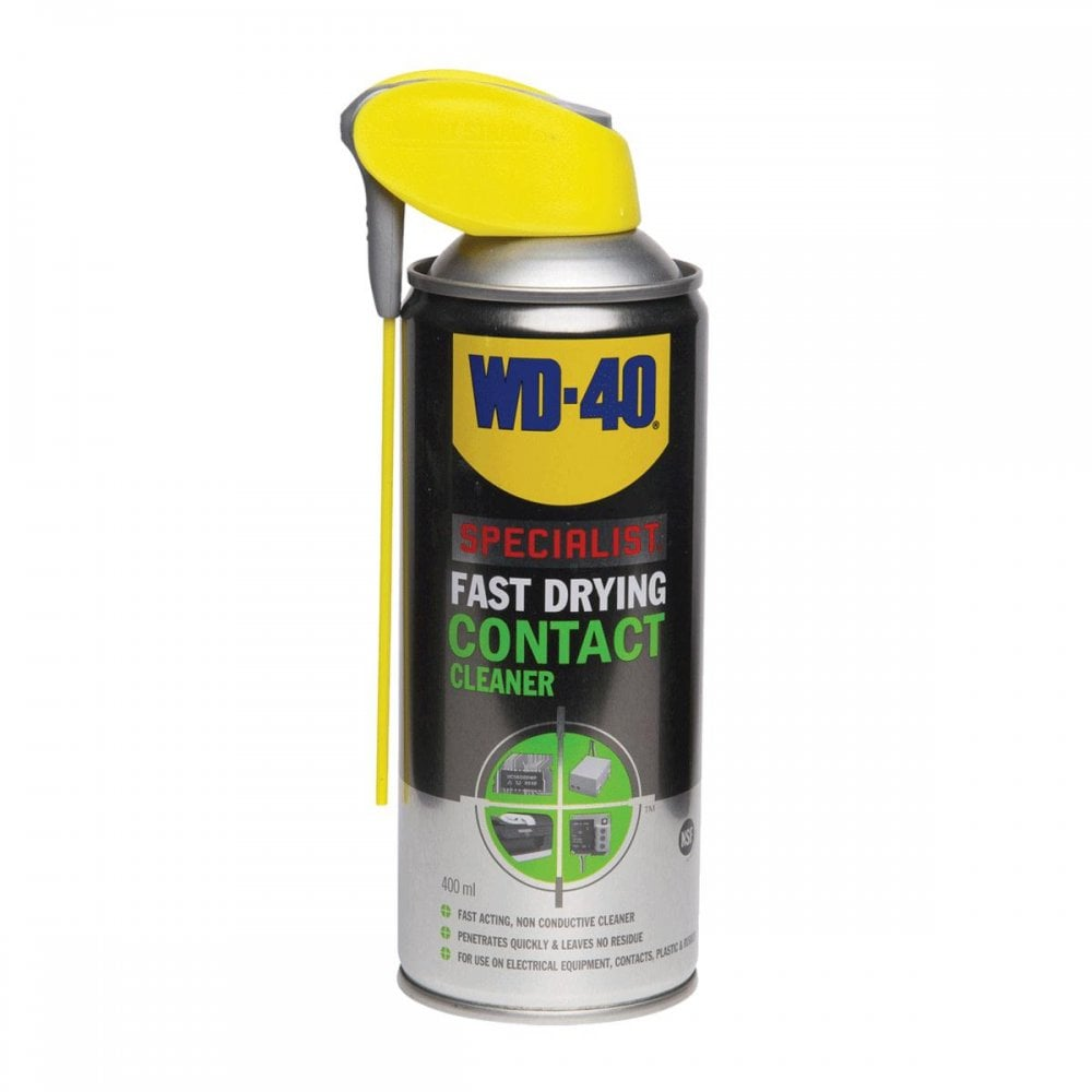 Wd-40 Specialist Fast Drying Contact Cleaner 400ml Aerosol